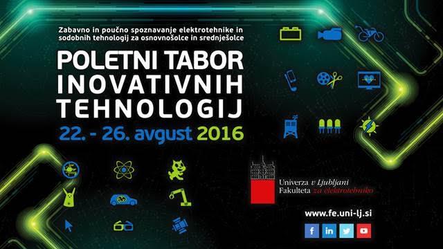 Poletni tabor inovativnih tehnologij