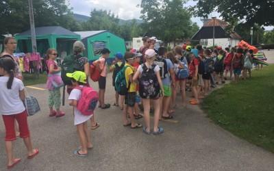 Plavalni tečaj Čatež – 1. dan