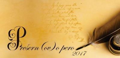 Razpis za tekmovanje v lepopisu za Prešer(no)vo pero 2017