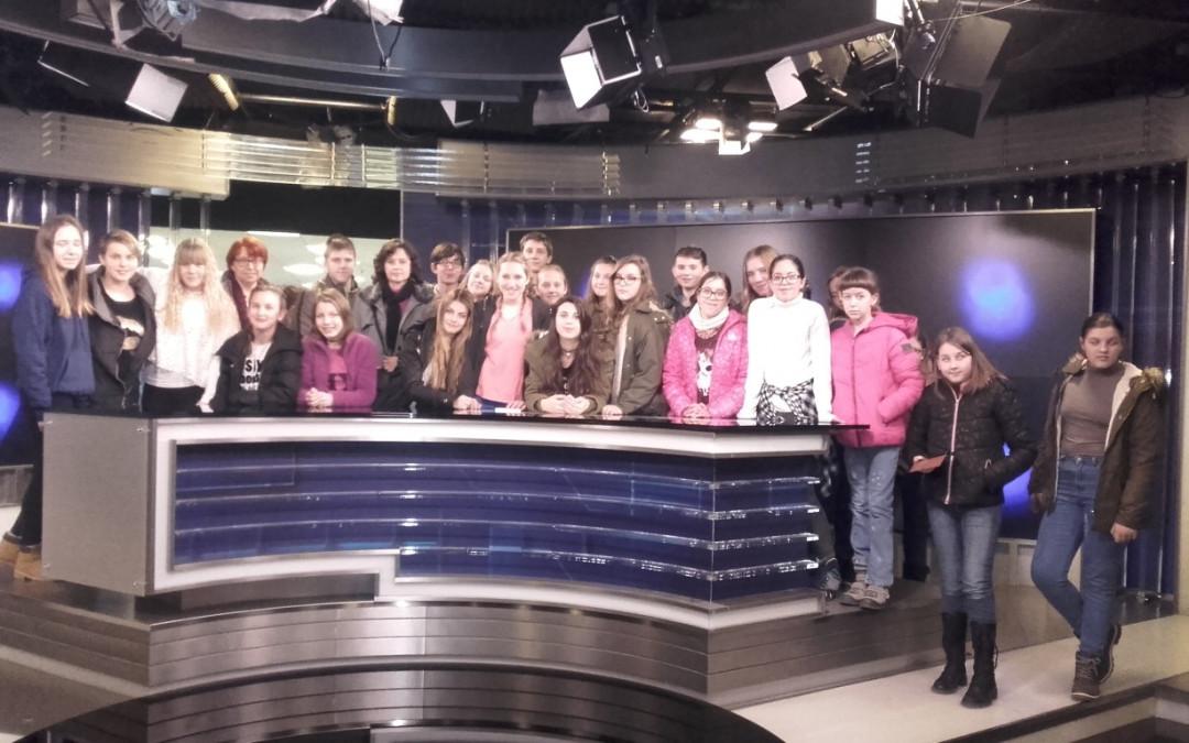 Obisk medijske hiše