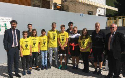 Promocija projekta Varno na kolesu s kolesarskima izletoma