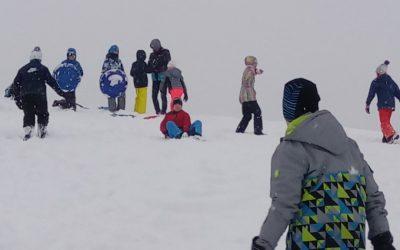 Ura ŠPO na snegu