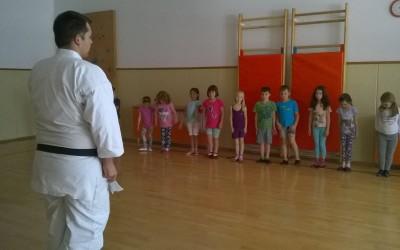 Obiskal nas je karateist Jernej Homar