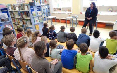 OPB 5 v knjižnici Daneta Zajca Moravče